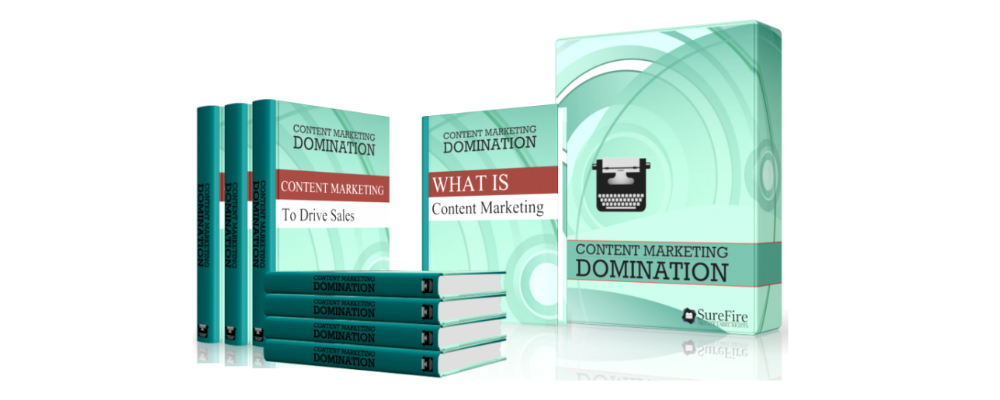 Content Marketing Domination Full Product Set
