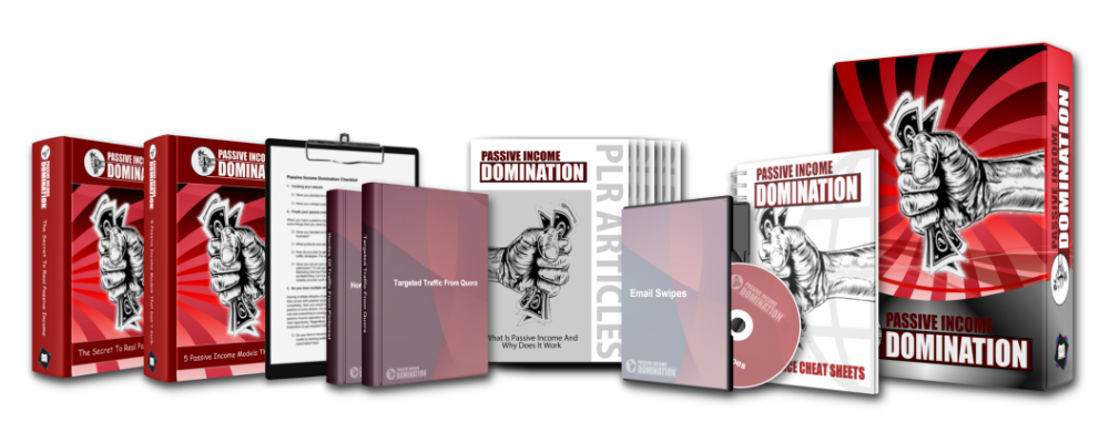Passive Income Domination Full Product Set