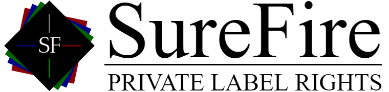 SureFire PLR Marketing Logo