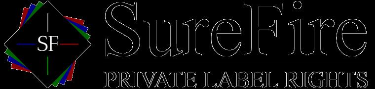 SureFire PLR Marketing Logo
